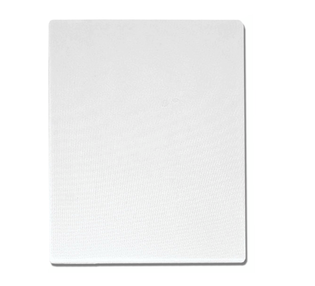 Cutting Board Polyethylene 6x10 White