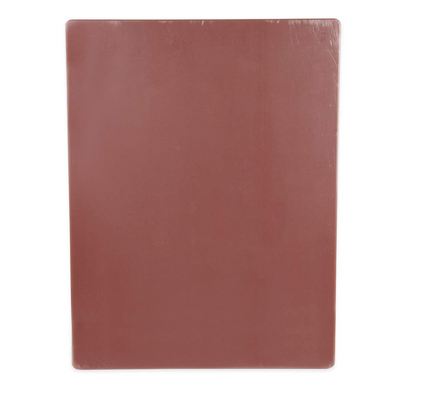 Cutting Board Polyethylene 12x18 Brown