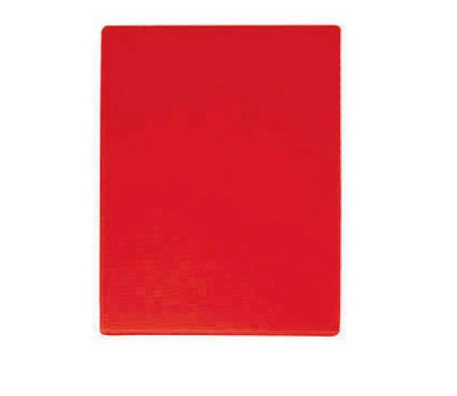 Cutting Board Polyethylene 12x18 Red
