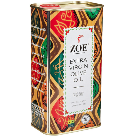 Oil Zoe Olive Tin 1ltr