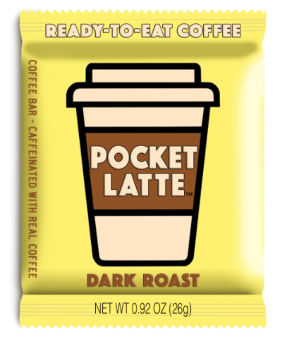 Pocket Latte Dark Rst Candy 26g