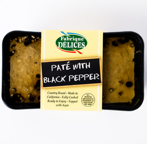 Fabrique w/ Black Pepper Pate 7 oz