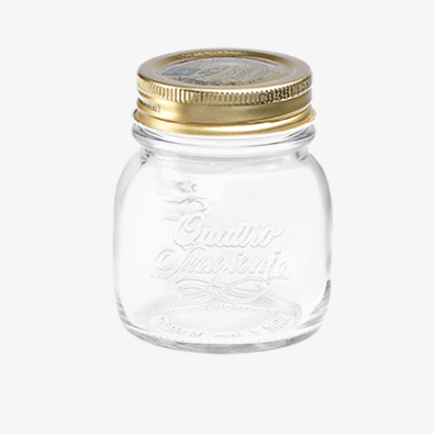 Canning Jar 5oz Set/4