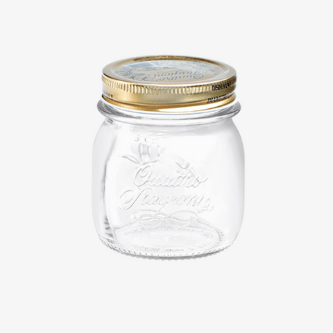Canning Jar 8-1/2oz Set/4