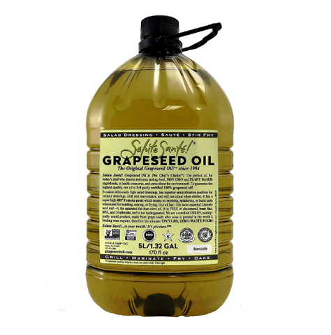 Salute Grapeseed Oil 5lt
