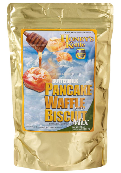 Honey Kettle Buttermilk Pancake, Waffle & Biscuit Mix