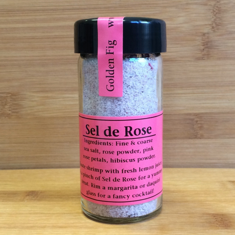 Salt Golden Fig Sel de Rose 4oz