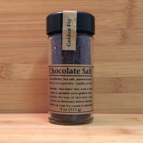 Salt Golden Fig Chocolate  4oz