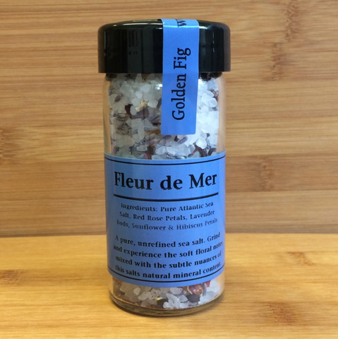 Salt Golden Fig Fleur de Mer 3.2oz