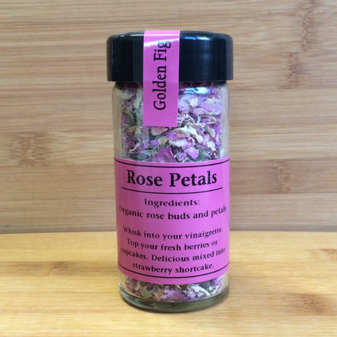 Spice Golden Fig Rose Petals 4oz