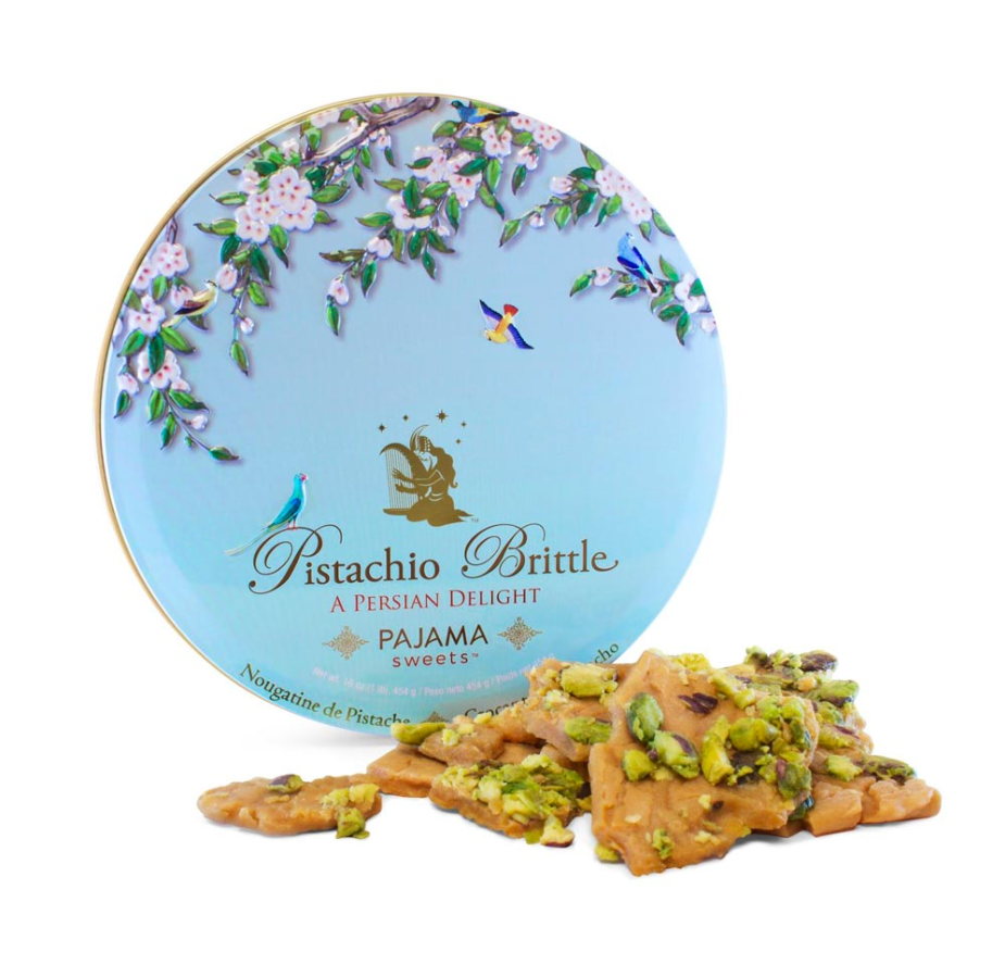 Cookie Pajama Pistachio Tin 1lb