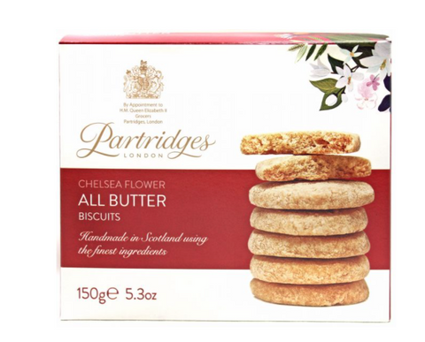 Partridges Butter Biscuits 5.3oz