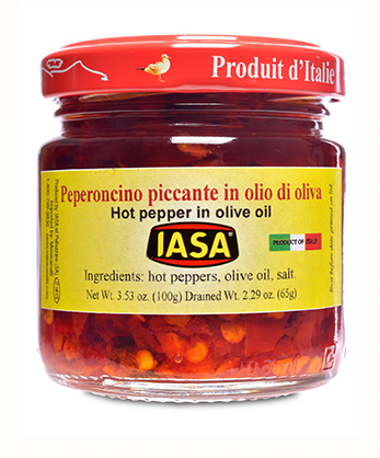 Iasa Chile Peppers in Oil 3.5oz