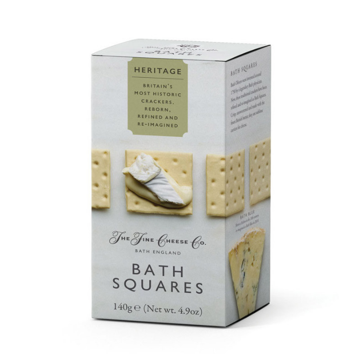 Cracker Fine English Bath Squares 140g