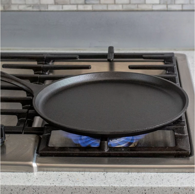 CAST IRON GRIDDLE 10.5IN