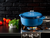 DUTCH OVEN ENAMEL 7.5QT BLUE