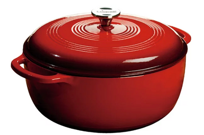 DUTCH OVEN ENAMEL 7.5QT RED