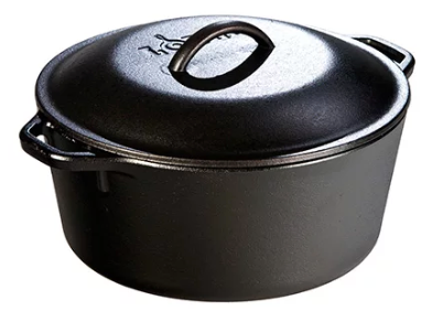 Dutch Oven Iron 5QT