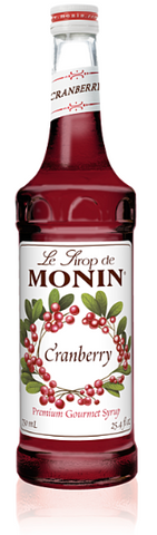 Syrup Monin Cranberry 750ml