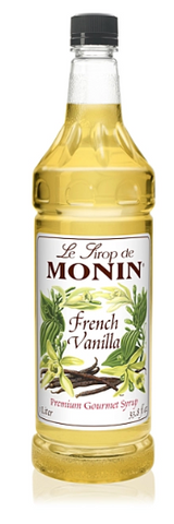 Syrup Monin French Vanilla 1ltr