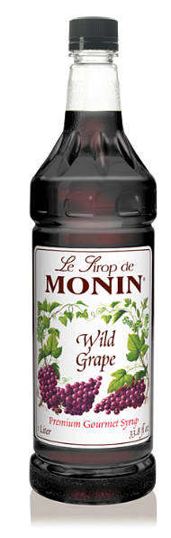 Syrup Monin Grape Wild 1lt