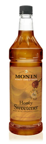 Syrup Monin Honey Sweetener 1Ltr