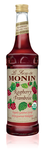 Syrup Monin Organic Raspberry 750ml