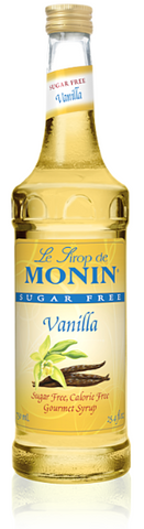 Syrup Monin Sugar Free Vanilla 750ml