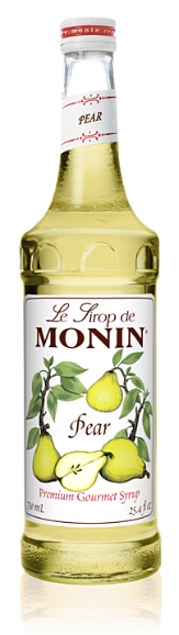 Syrup Monin Pear 750ml