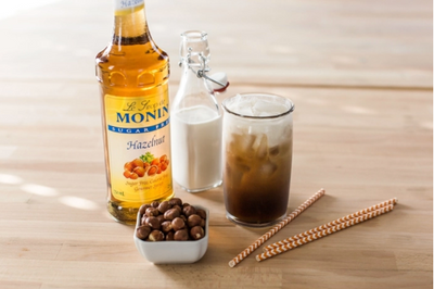 Syrup Monin Sugar Free Hazelnut 750ml