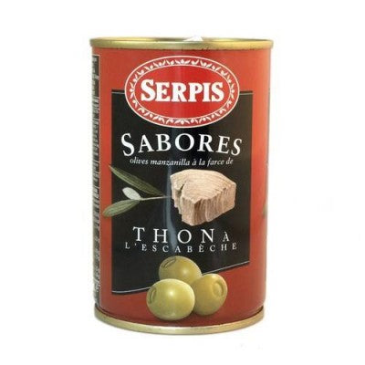 Olives Serpis Tuna Stuffed 130g