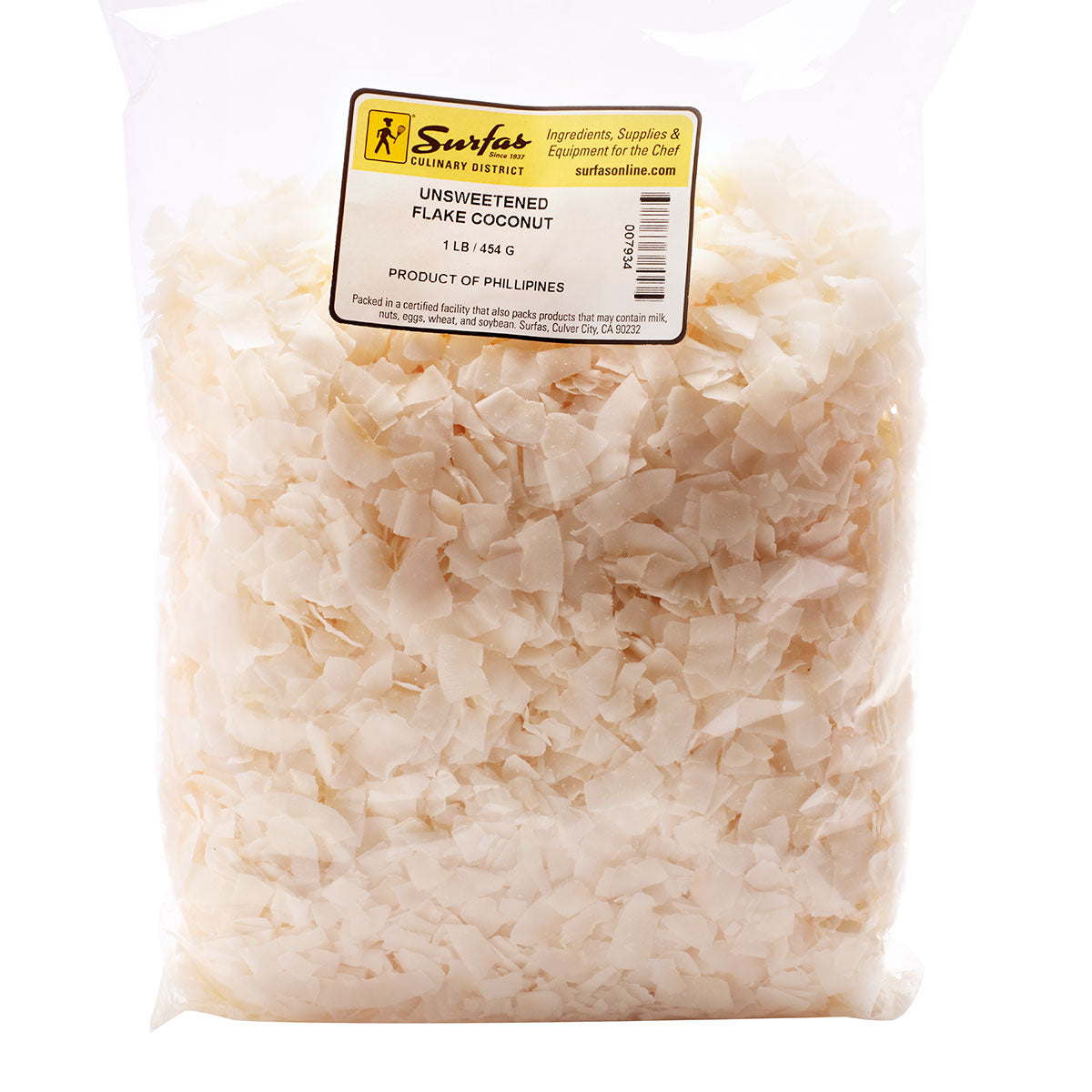 Coconut Unsweet Flake 1lb