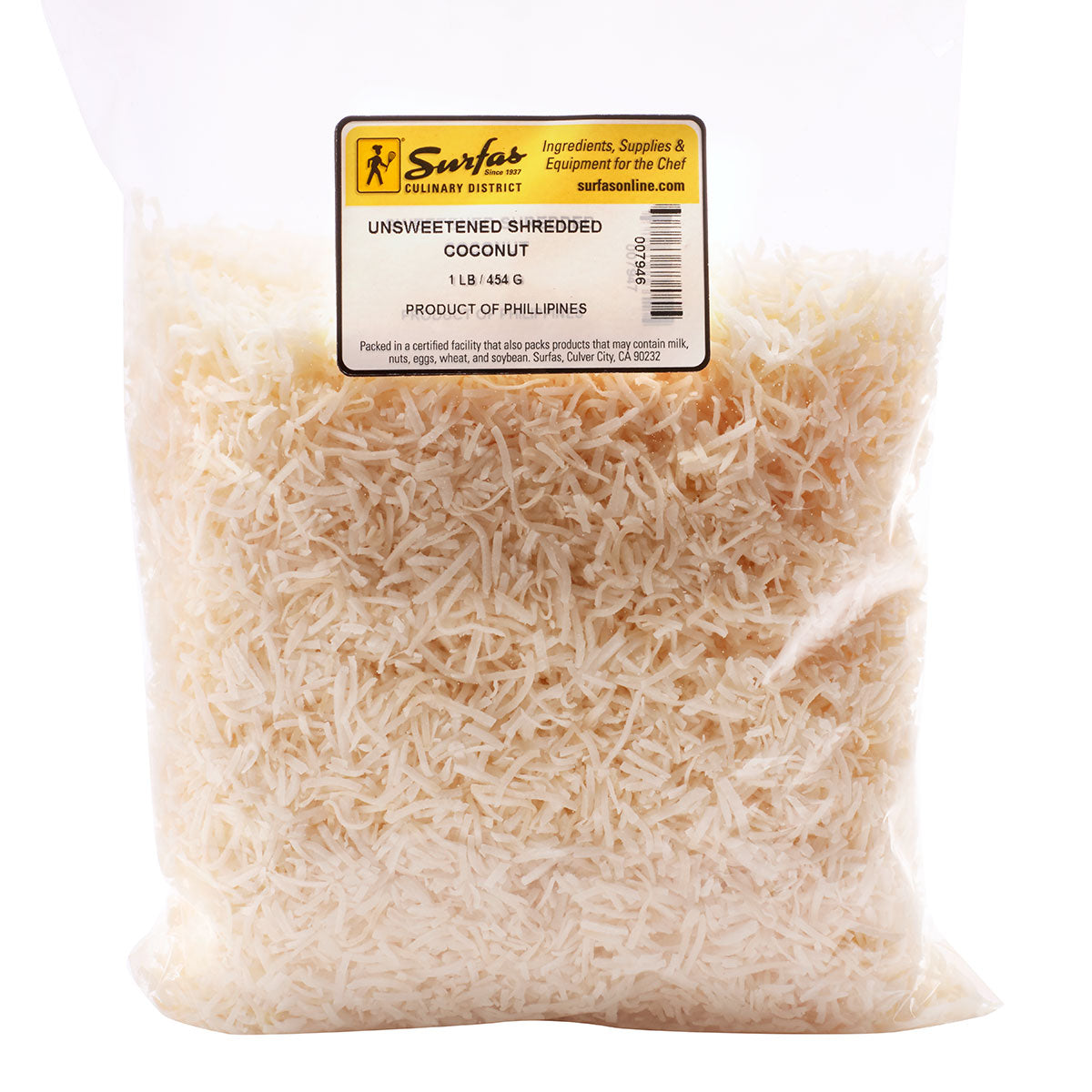 Coconut Shredded Unsweetened 1lb