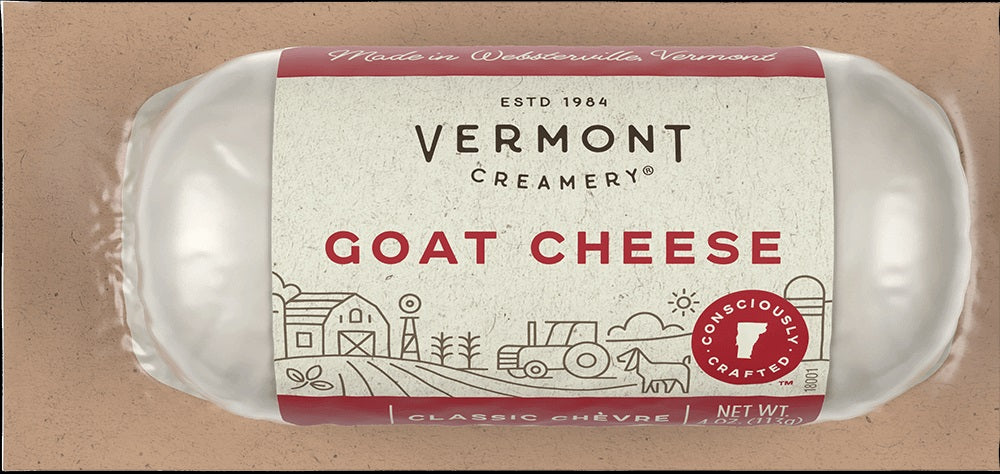 Cheese Vermont Goat Log