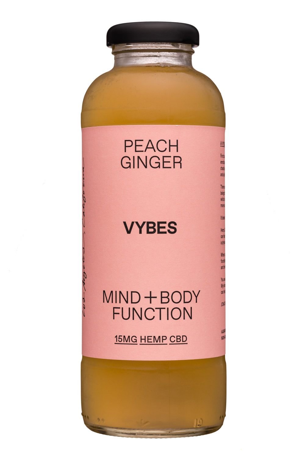 Drink Vybes Peach Ginger 14oz