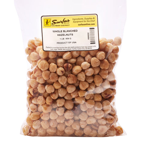 Hazelnuts Blanched 1lb