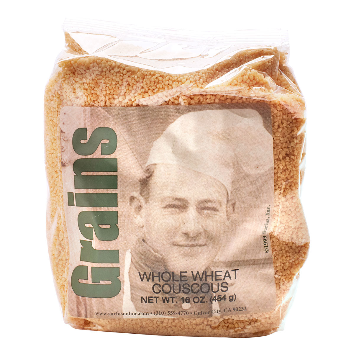 Cous Cous Whole Wheat 1lb