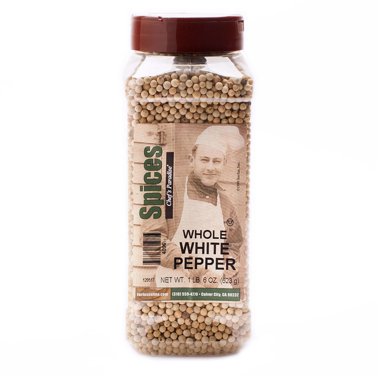 Pepper Whole White 11oz