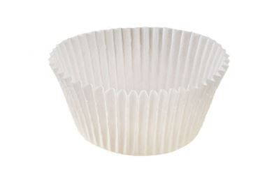 BAKE CUP 2-1/2IN WHITE ROLL