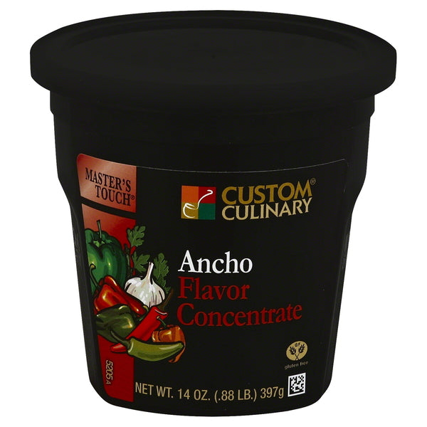Base Custom Culinary Master's Touch Ancho Flavor Concentrate 14oz