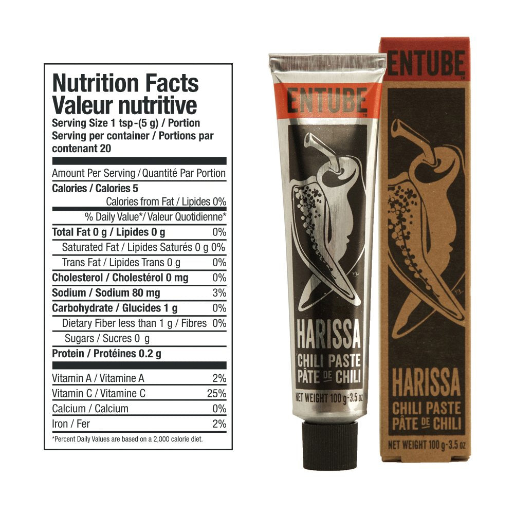 Paste Entube Harissa 3.5oz