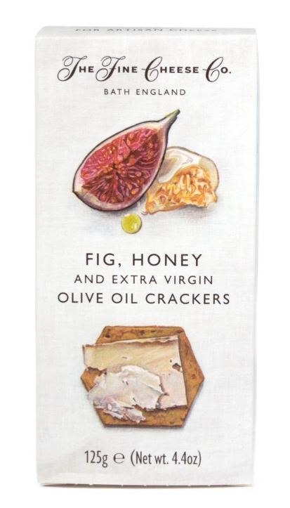 "Cracker ""The Fine Cheese Co"" Fig & Honey 4.4oz"