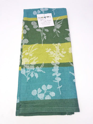 Kitchen Towel Botanical Green