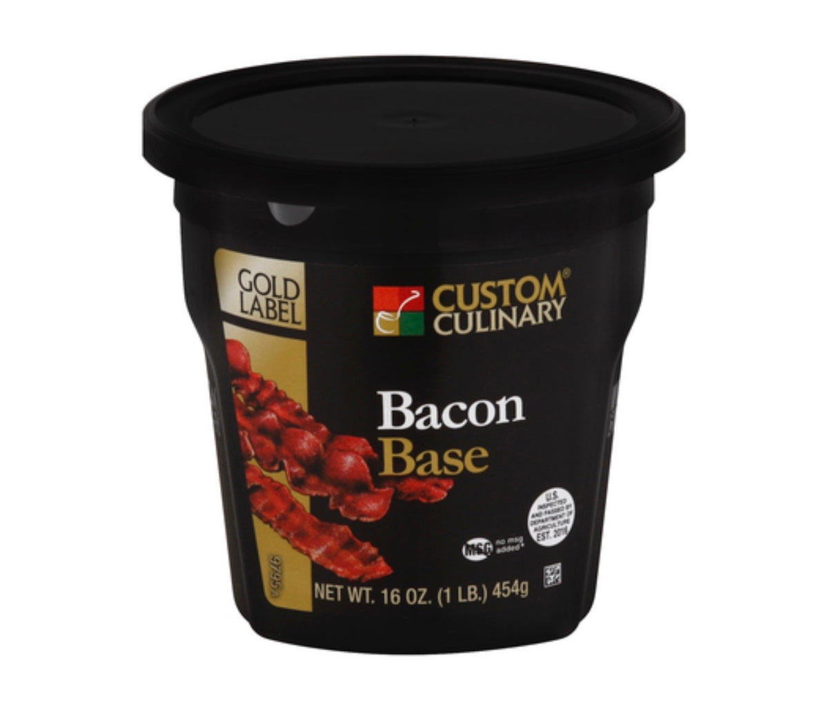 Base Custom Culinary Gold Label Bacon 1lbs