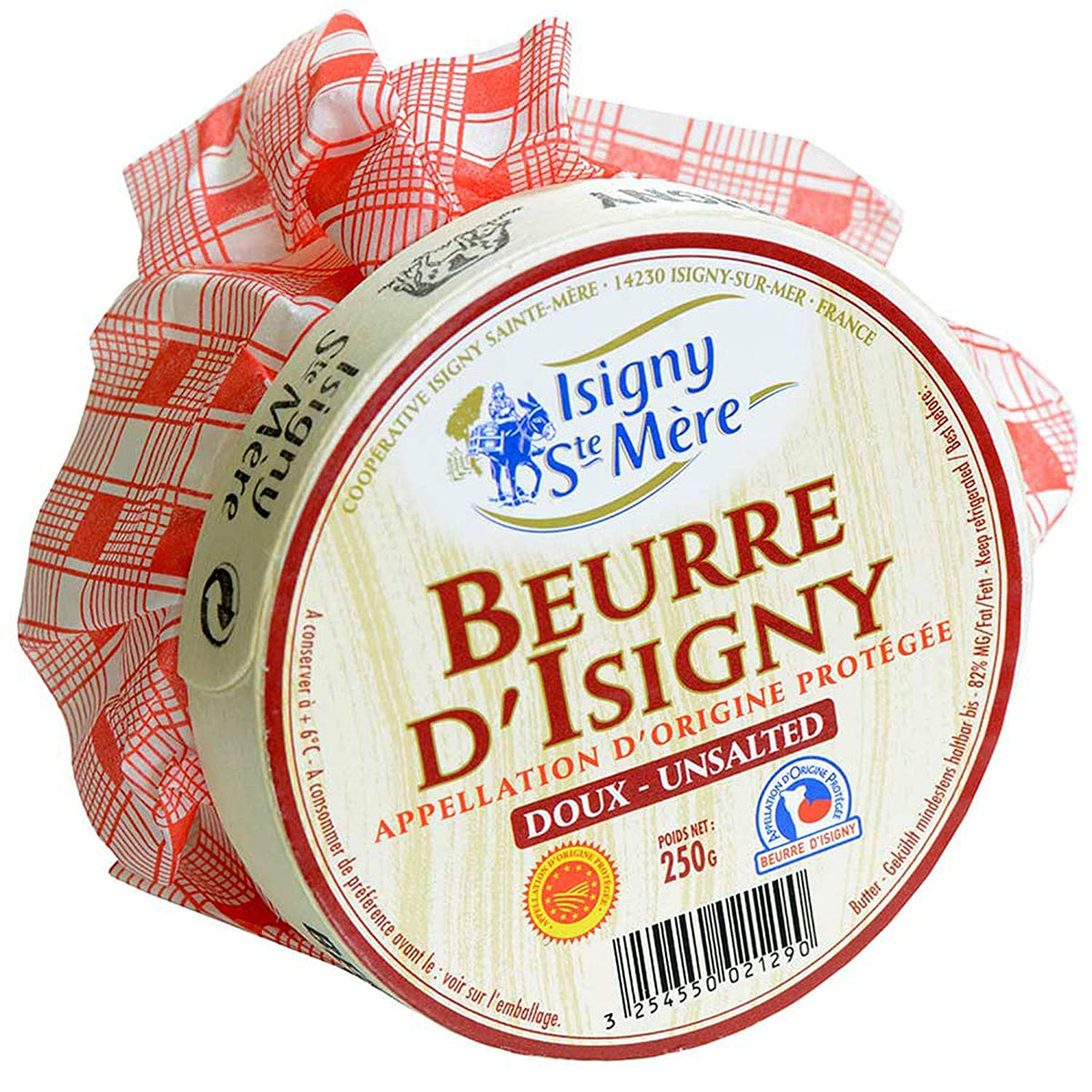 Butter Isigny Basket 250g