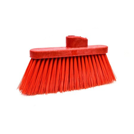 Angle Broom Head - Red
