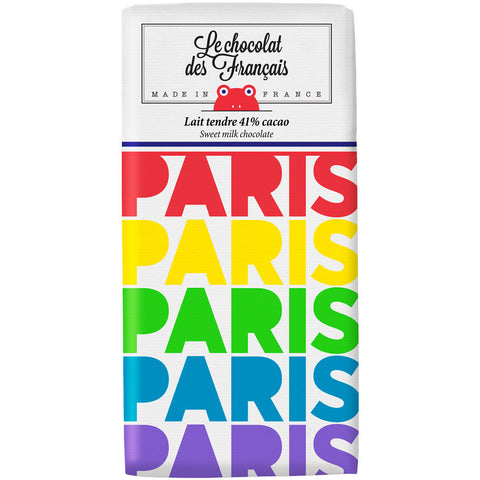Le Chocolat des Francais Milk Bar Paris 80g