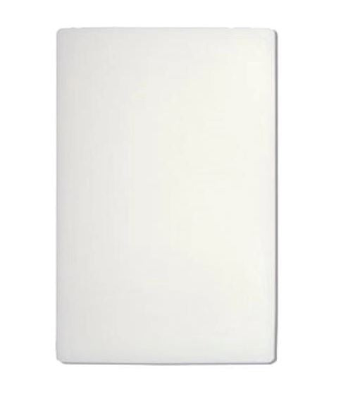 Cutting Board Polyethylene 18x24 White