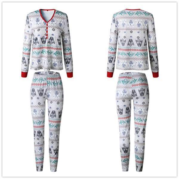 Star War Christmas Family Pajamas Set