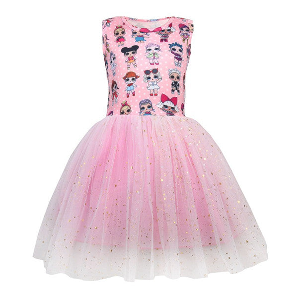 LOL Surprise! Lovely Girls Princess Party Dress